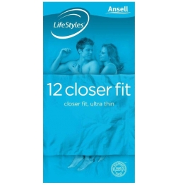 Ansell LifeStyles Closer Fit 12 pack
