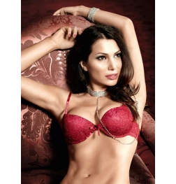 Baci Flower Lace Bra