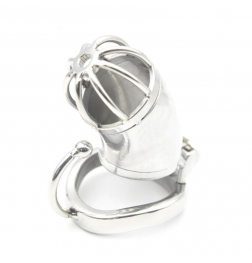 Ball Hook Locking Chastity Cage