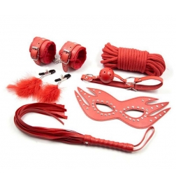 Bedroom Bondage Kit 6 Piece