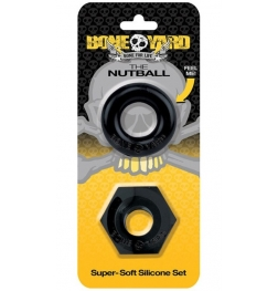 Boneyard The Nutball Super-Soft Silicone Ring Set