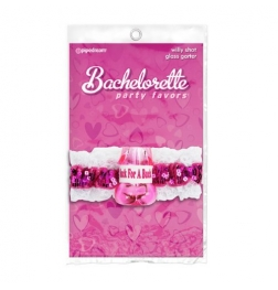 Bachelorette Party Favors Willy Shot Glass Garter