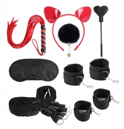 Cat Headband Bed Bondage Kit