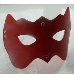 CatWoman PVC Eye Mask Red Heavy