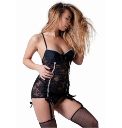De Namour Cami Garter With G-String