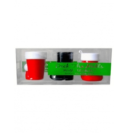 Deck The Halls Shot Glass