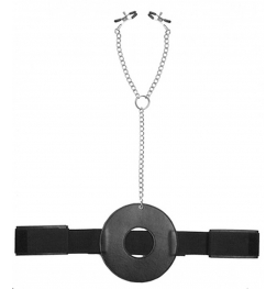 Detained Restraint System with Nipple Clamps