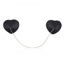 Encrusted Heart Shaped Nipple Pasties