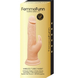 FemmeFunn Vortex Series 2.0 Wireless Turbo Rabbit