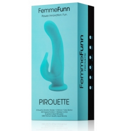 FemmeFunn Pirouette Rotating Wireless Rabbit Vibrator