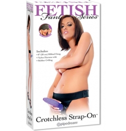 Fetish Fantasy Crotchless Strap-on with Dildo