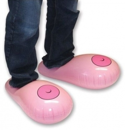 Inflatable Bobbie Slippers