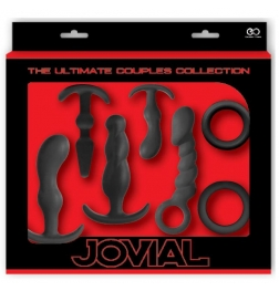 Jovial 7 Piece Anal Kit Black