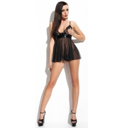 Klara Chemise and Thong Set