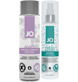 Limited Offer! Jo Agape Lubricant + Free Toy Cleaner Bundle 120m