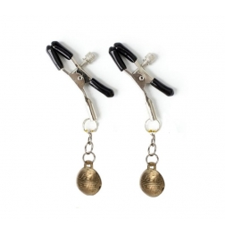 Metal Nipple Clamps with Bells