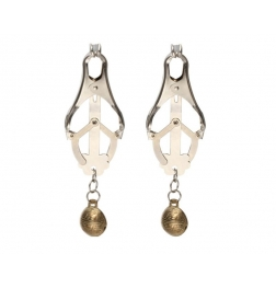 Nipple Clover Clamp With Bells