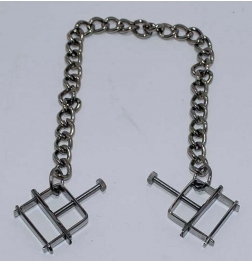 Nipple Press Clamps With Chain