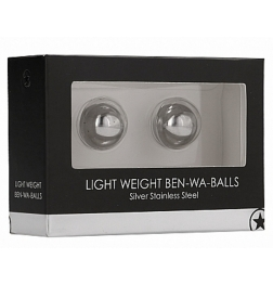 Ouch! Light Weight Ben-Wa Balls Silver