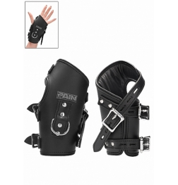 Pain Wrap-Around Leather Suspension Wrist Cuffs