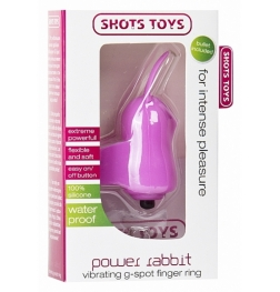 Power Rabbit Vibrating G-Spot Finger Ring