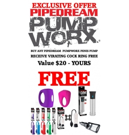 Pumpworx Pump Offer - Romant Cock Ring Free
