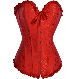 Red Overbust Slimming Corset & G-String