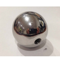 Stainless Steel Solid Threaded Sex Ball