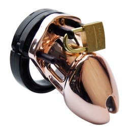 Rose Gold Male Chastity Cage