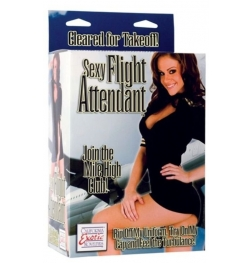 Sexy Flight Attendant Doll