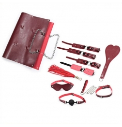 Shoulder Bag Include 8 pcs Bondage Kit