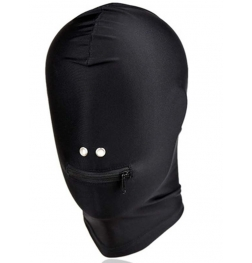 Spandex Zipper Mouth Hood