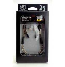 Spartacus Ajustable Alligator Clamps with Link Chain
