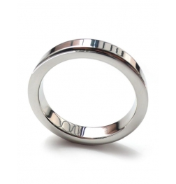 Square Edged Steel Cock Ring 8mm