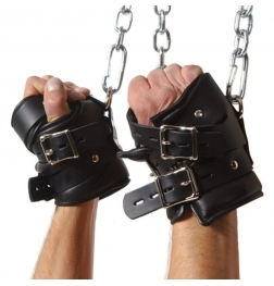 Leather Premium Suspension Wrist Cuffs
