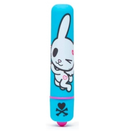 tokidoki Single Speed Mini Bullet Vibrator Blue Lovehoney Bunny
