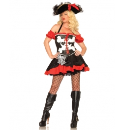 Treasure Island Temptress Sexy Adult Costume