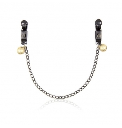 Alligator Nipple Clamps With Bell And Chain
