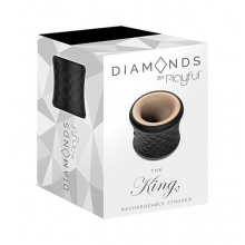 Diamonds by Playful The King Rechargeable Stroker