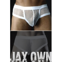 Mesh Mens Boxers White 2XL