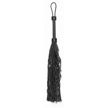 Pain Leather Suede Barbed Wired Flogger