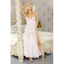 PURE Embroidered Gown & G-String