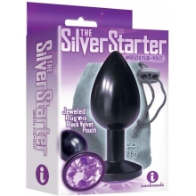 The 9's Silver Starter Anodized Plug