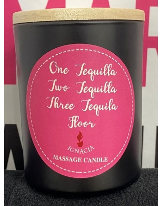 1 Tequila 2 Tequila 3 Tequila Floor Massage Candle 150g